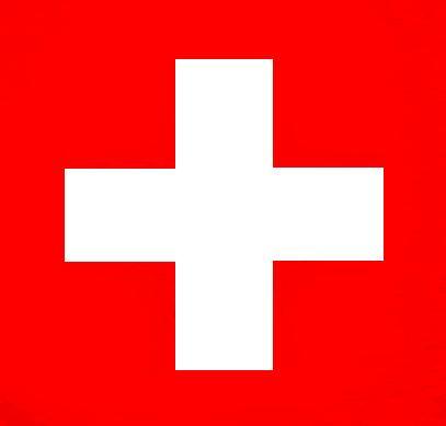 Quadratische Schweizerflagge
